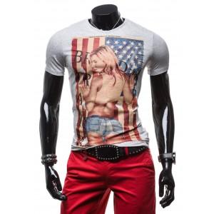 Značkové pánské trička s potiskem