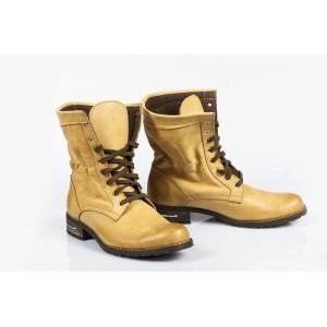 Dámske topánky - Pieskové šnurovacie