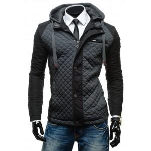 Černá elegantní pánská bunda