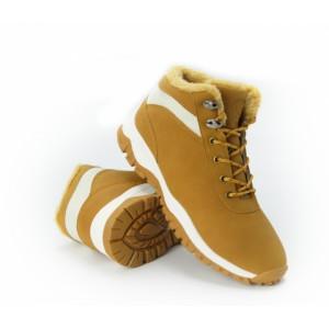 Pánské béžové zateplené boty
