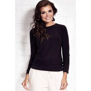Elegantní dámský svetr černé barvy