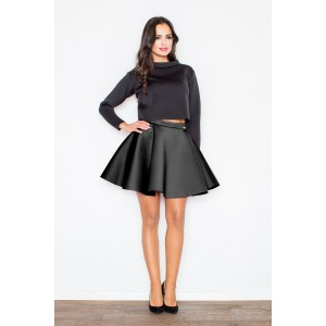 Černá dámská elegantní sukně