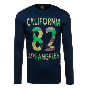 California pánský nátělník tmavě modré barvy
