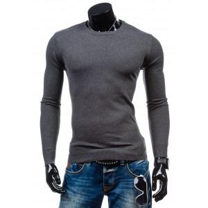 Pánský pulovr antracitové barvy