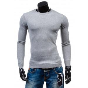 Pánský šedý pulovr