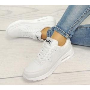 Dámske topánky AIR na voľný čas bielej farby