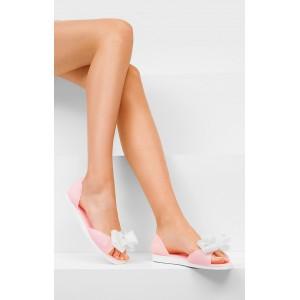 Letní růžové sandály pro dámy a dívky
