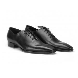 Pánské slavnostní boty černé barvy COMODO E SANO