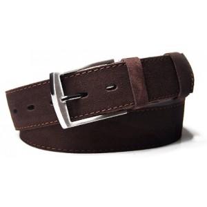Hnědý pánský pásek kožený