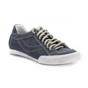 Kožené pánské boty COMODO E SANO v tmavě modré barvě