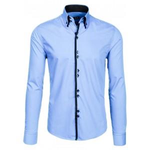 Světle modrá košile pro každého muže