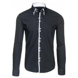 Černé pánské košile pro každou příležitost