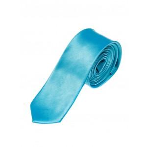 Tyrkysové pánské kravaty úzké