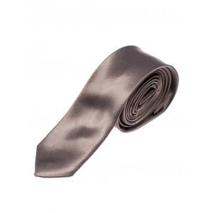 Tmavě šedé pánské kravaty úzké