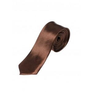 Pánské společenské kravaty hnědé barvy