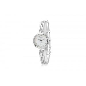Stříbrné dámské hodinky z chirurgické oceli