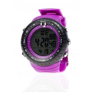 Fialové sportovní hodinky pro pány