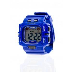 Modré sportovní hodinky pro pány