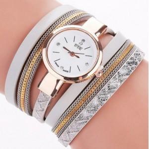 Elegantní šedé hodinky s náramky