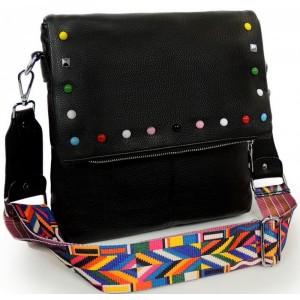 Černé crossbody dámské kabelky