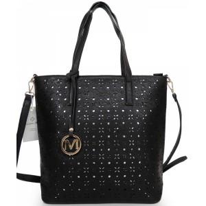 Černá dámská kabelka přes rameno