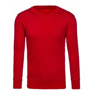 Stylová pánská mikina v červené barvě