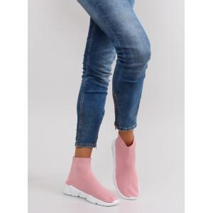 Stylové dámské tenisky růžové barvy