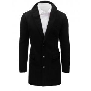 Moderní pánské kabáty černé barvy