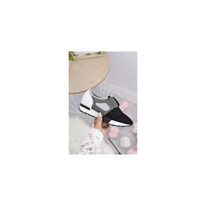Moderní dámská obuv v šedé barvě