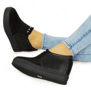 Elegantní dámské boty černé barvy