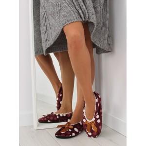 Dámské pantofle béžové barvy