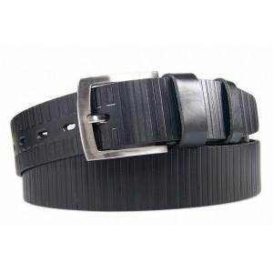 Černý pánský opasek k obleku