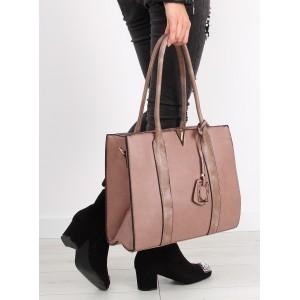 Dámská kabelka přes rameno růžové barvy
