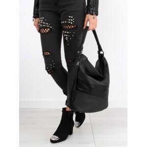 Černé dámské kabelky přes rameno