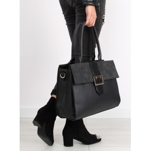 Dámská kabelka přes rameno černé barvy