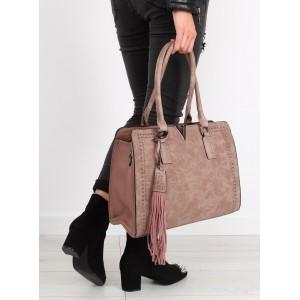 Dámská kabelka v růžové barvě