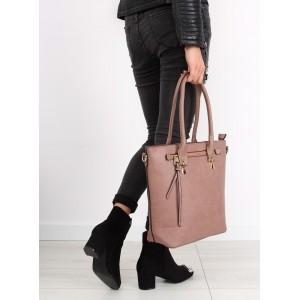 Dámské kabelky přes rameno růžové barvy