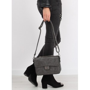 Crossbody kabelky šedé barvy
