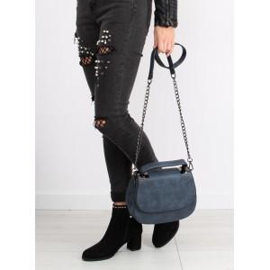 Tmavě modrá dámská crossbody kabelka vhodná na každou příležitost