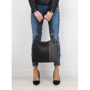 Elegantní dámské kabelky do ruky v černé barvě