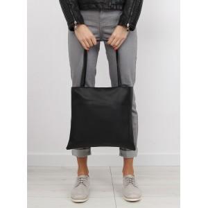 Dámské nákupní kabelky shopper v černé barvě
