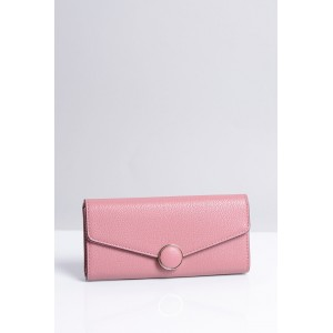 Elegantní růžová dámská peněženka s magnetickým zapínáním