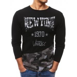 Tričko s dlouhým rukávem černé