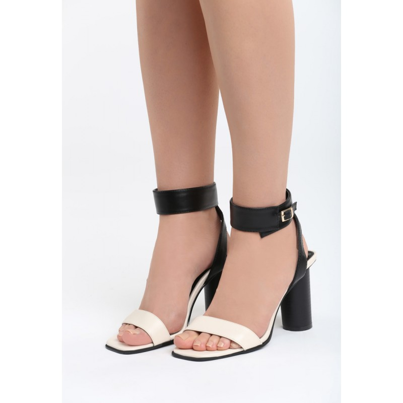 Elegantní sandály béžové barvy 27ed7c02fe