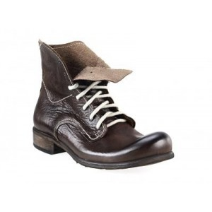 Pánské kožené boty hnědé