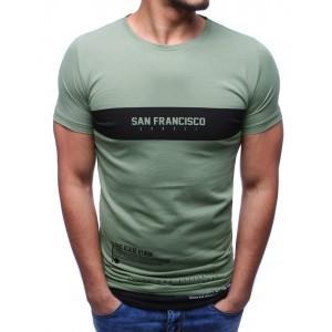 Stylová trička zelené barvy