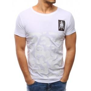 Pánské polo triko bílé barvy