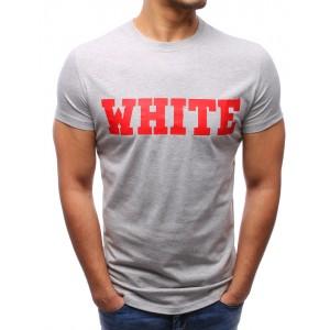 Stylové trička šedé barvy