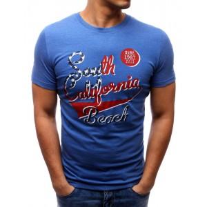 Pánské triko modré barvy