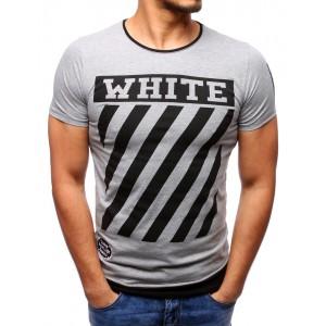 Letní trička šedé barvy